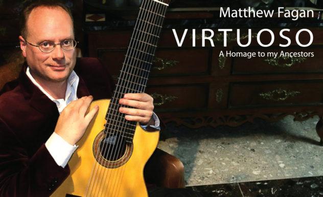 Virtuoso - A Homage to my Ancestors Album Cover
